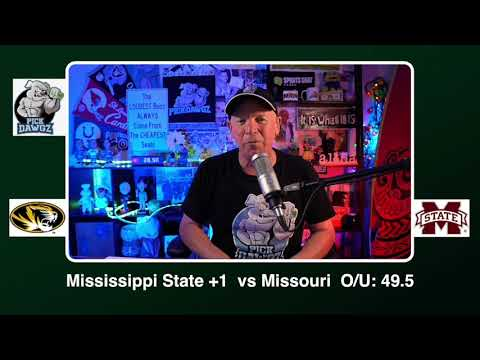 Mississippi State vs Missouri 12/19/20 Free College Football Picks and Predictions CFB Tips