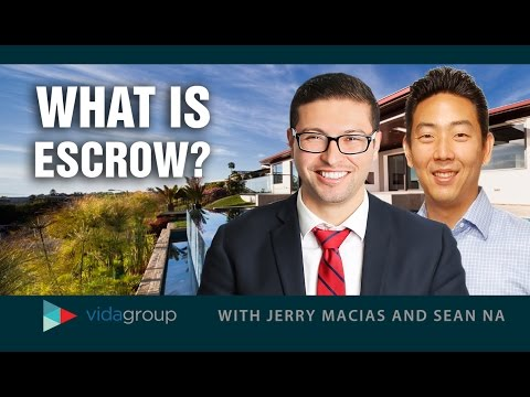 Greater Los Angeles Area Real Estate Agent: What is escrow?