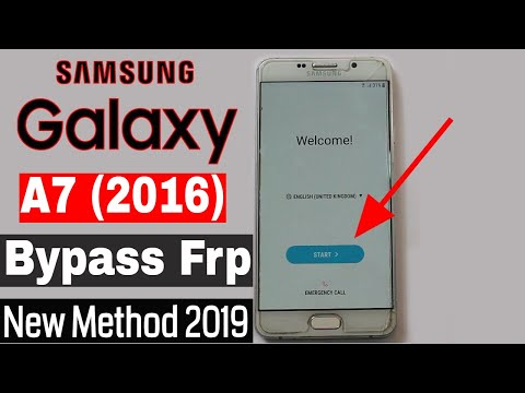 Bypass Google Account Samsung A7 (6) New Security Bypass 2019