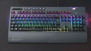 Asus ROG Strix Flare Gaming RGB Keyboard Review