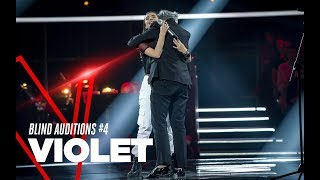 "Violet  ""Non riesco a parlare"" - Blind Auditions #4 - TVOI 2019"