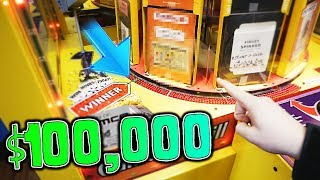 Game | 100,000 Dollars in an ARCADE GAME? Arcade WINS! | 100,000 Dollars in an ARCADE GAME? Arcade WINS!