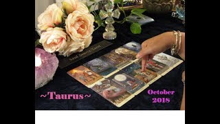 ~Taurus~October 2018~💗This is a True Soulmate Connection 💗 End of October 2018 Taurus Reading 💗