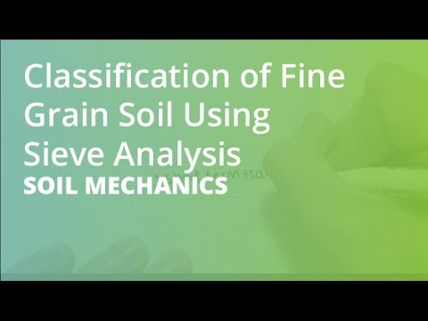 Classification of Fine Grain Soil & Atterberg Limits | Soil Mechanics