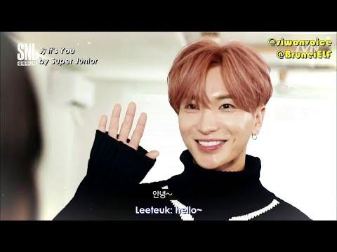 [ENGSUB] 171111 tvN SNL Korea 3-minute boyfriend Leeteuk (Super Junior)