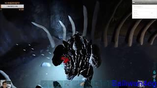 Ark Survival новый день, разведка боем базы NightRaid, ночью школьники пытались залезть.
