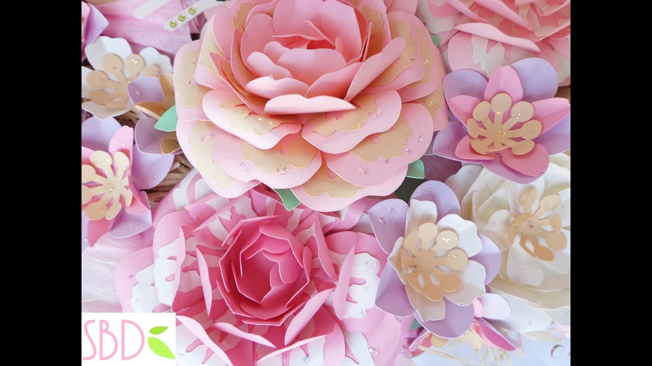 Youtube Fiori Di Carta.Fiori Di Carta New Style New Style Paper Flowers Youtube