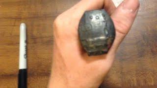 How to Make a Metal Stamp! (DIY Railroad Spike)
