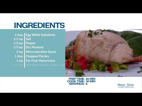 Healthy Recipes: Stuffed Chicken Breast With Crab