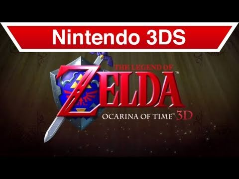 The Legend of Zelda: Ocarina of Time 3D - Nintendo 3DS - Trailer