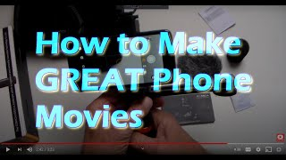 Do You Want to Make Better  Phone Movies? - Comica Smartphone Video Kit CVM-VM10