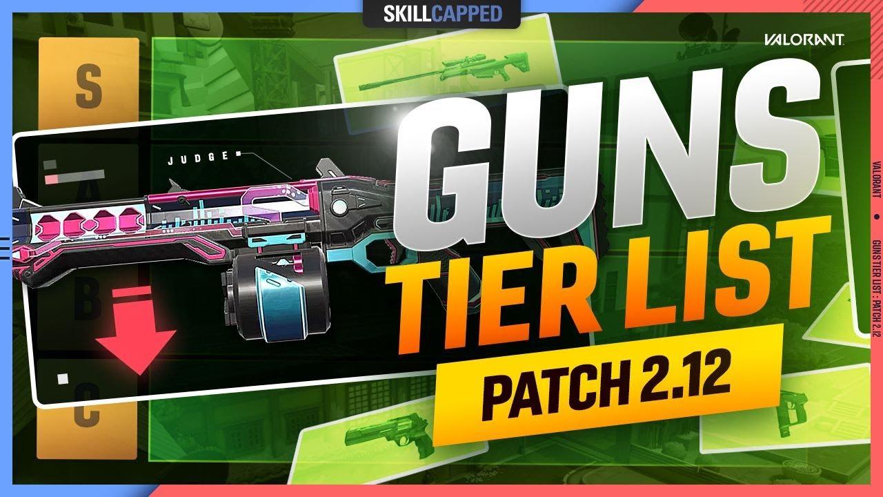 Download NEW BEST GUN TIER LIST - Valorant Patch 3.0 Meta Guide