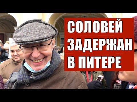 NevexTV: Валерий Соловей задержан в Петербурге (хроника)