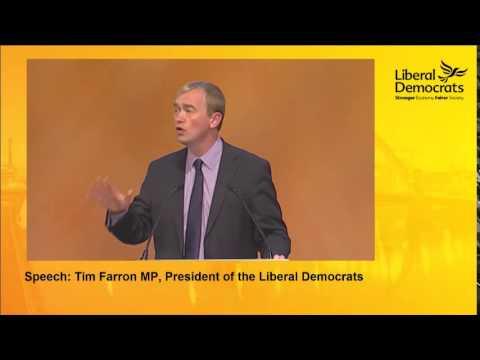 Tim Farron MP Speech to the Liberal Democrat Conference 2014