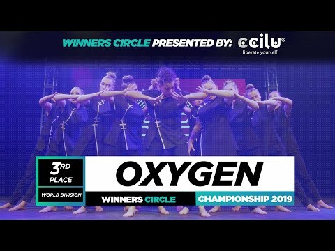 Oxygen | 3rd Place World Division| Winners Circle| World of Dance Championship 2019 |#WODCHAMPS19