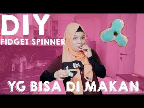 DIY FIDGET SPINNER YG BISA DI MAKAN