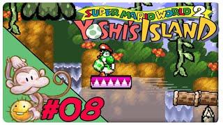 SMW2 Yoshi's Island #08: Affenstarker Self-Jinx - Let's Play [GER]