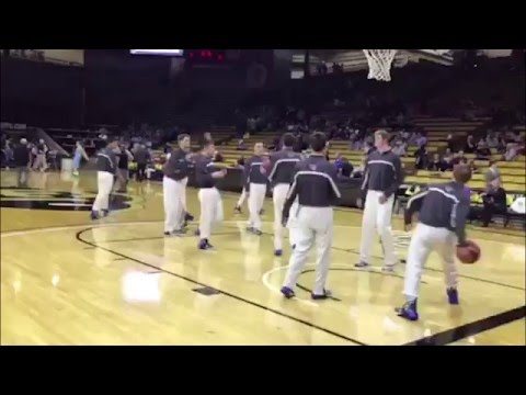 Pueblo West Cyclones warm up before their final four game