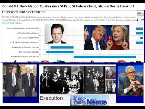 Donald & Hillary Aleppo' Quakes since St Paul, St Helena launched Christ, Islam & Nestle of Frankfur