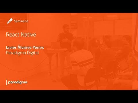 Descargar Video Cómo crear una app desde cero con React Native