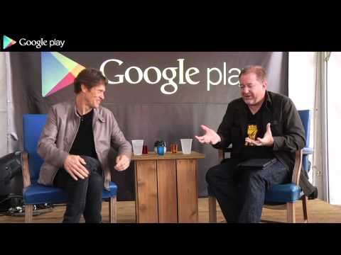 Google Play: Willem Dafoe Interview Android House SXSW