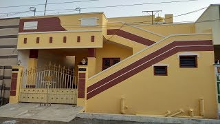 20 x 42 Independent 2 BHK House with Car Parking for Sale, Price@ Rs.29 Lakhs
