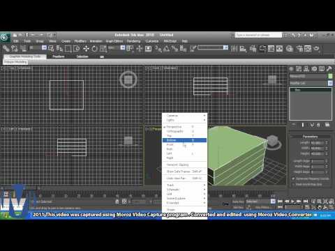 3ds max: Beginner - Poly Subdivision 101 pt 1 of 8