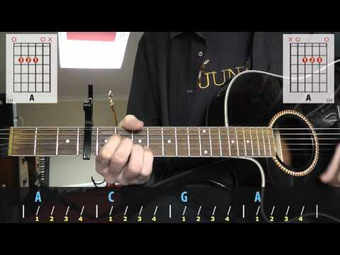 Gabriella Cilmi - Sweet About Me guitar lesson for beginners