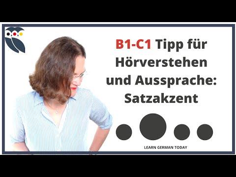 Deutsch Hören B1-C1: Hörverstehen für eine Deutsch-Prüfung verbessern