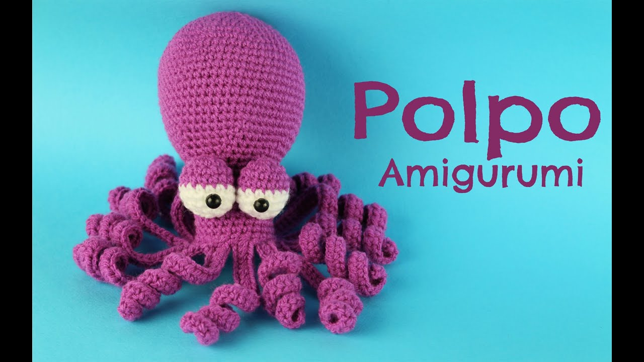 World Of Amigurumi : Polpo Amigurumi World Of Amigurumi - YouTube