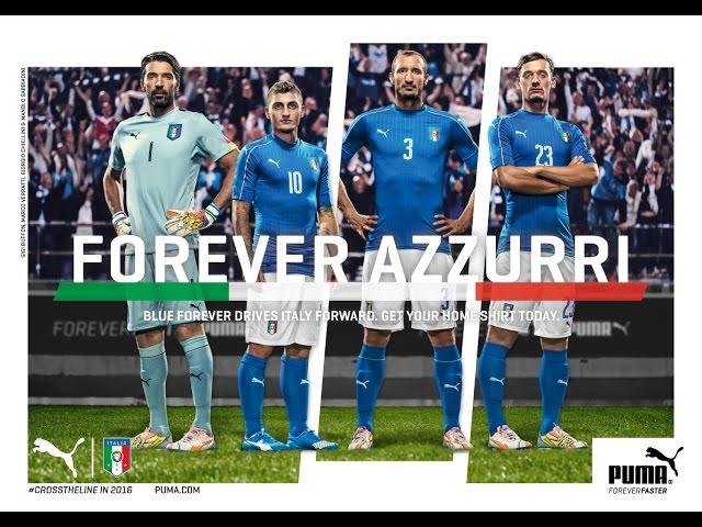 e6616296ac Mamma mia   Itália lança novas camisas e deixa Buffon impressionado ...