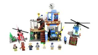 UNBOXING LEGO City 60174 Mountain Police Headquarters Kids Toys