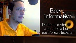 Breve Informativo - Noticias Forex del 29 de Mayo del 2018