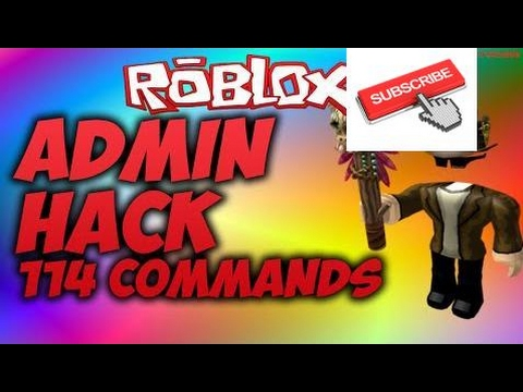 how to get admin commands on roblox for free 2017