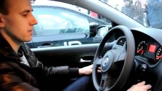 Егор Арсланов получает свой VW Polo от LR!