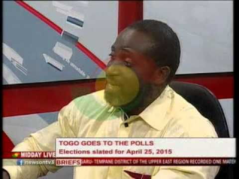 MiddayLive - Discussing Togo Elections - 31/3/2015