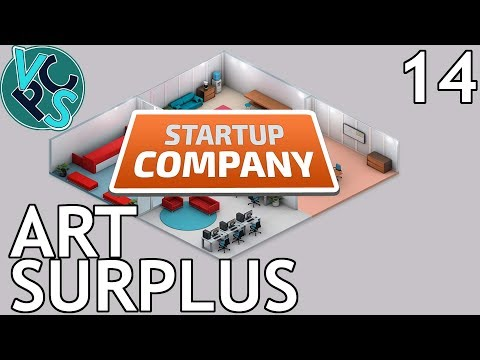 Startup Company EP14 - Art Surplus - Beta 13.5 Software Developer Tycoon Gameplay
