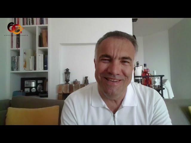 Präsident des Filmfestivals Türkei Deutschland, Adil Kaya, im Gespräch mit Dr. Elif Duygu Cindik-H.
