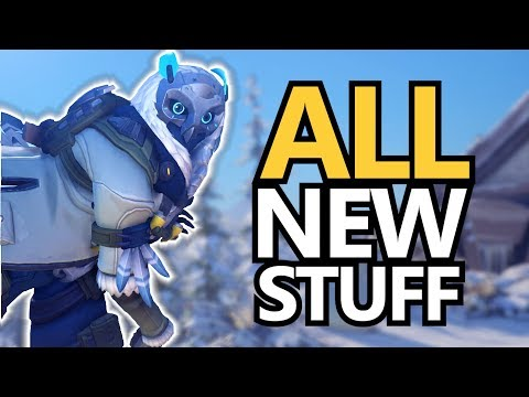 Winter Wonderland! New Skins and Yeti Hunt Game Mode! (Overwatch)