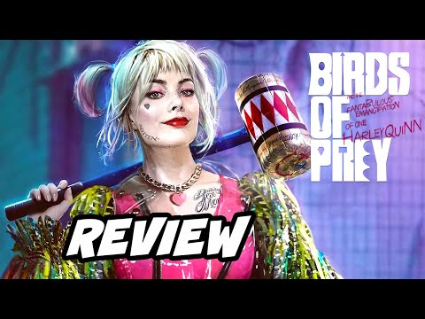 Birds of Prey Review NO SPOILERS - Joker Harley Quinn and DC Movies