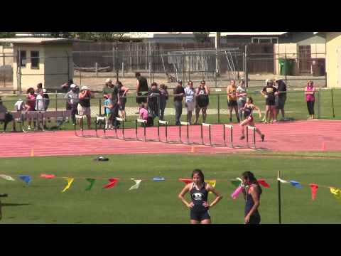 Rafer Johnson:  Girls 300mh: 3/21/2015