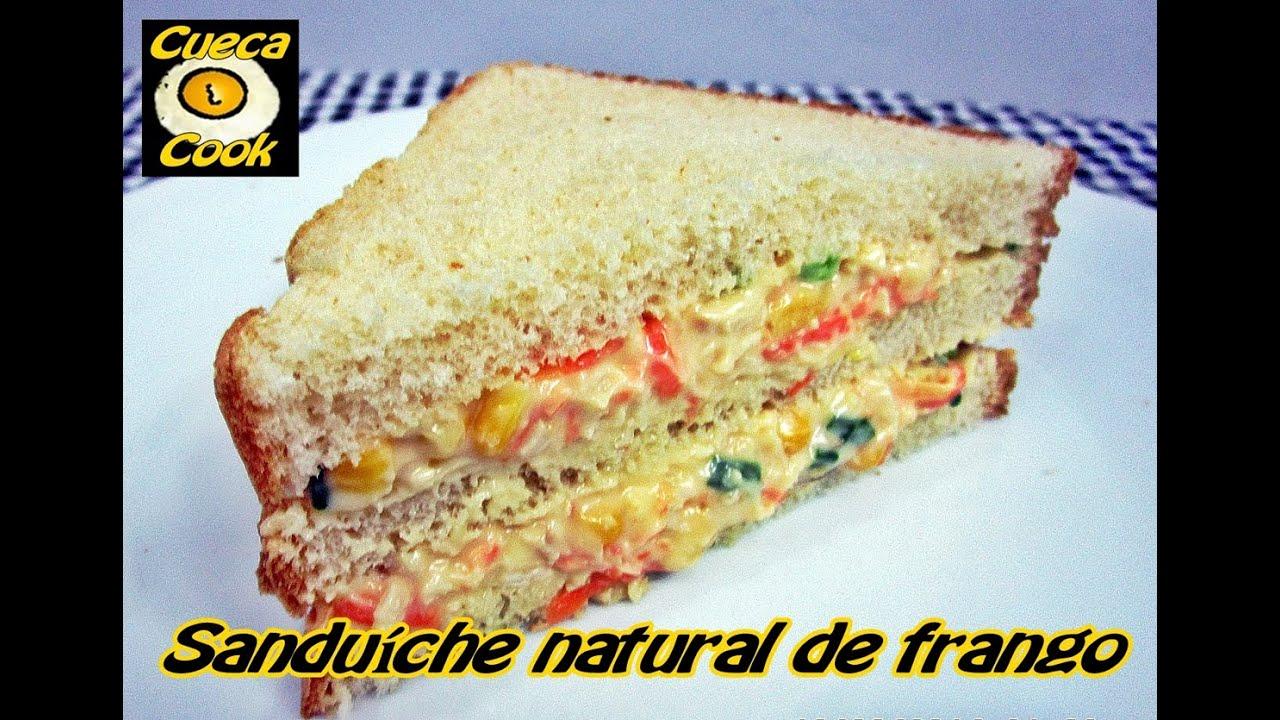 Sanduiche Natural De Frango A Pedido Da Galera Do Minecraft