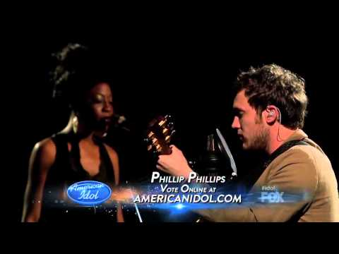 Phillip Phillips Volcano - Top 4 - American Idol Season 11