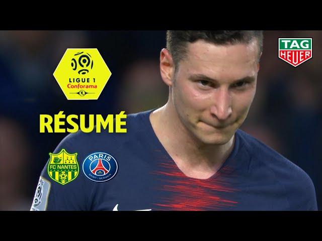 FC Nantes - Paris Saint-Germain ( 3-2 ) - Résumé - (FCN - PARIS) / 2018-19