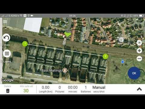 Linear Scan Tutorial - Bass Maltings - Aero Ranger DJI control Software