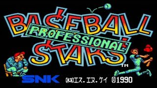 SNK Classic Game Baseball Stars on PS3 in HD 720p