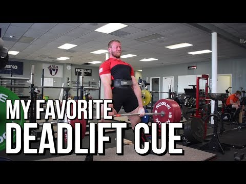 My Favorite Deadlift Cue