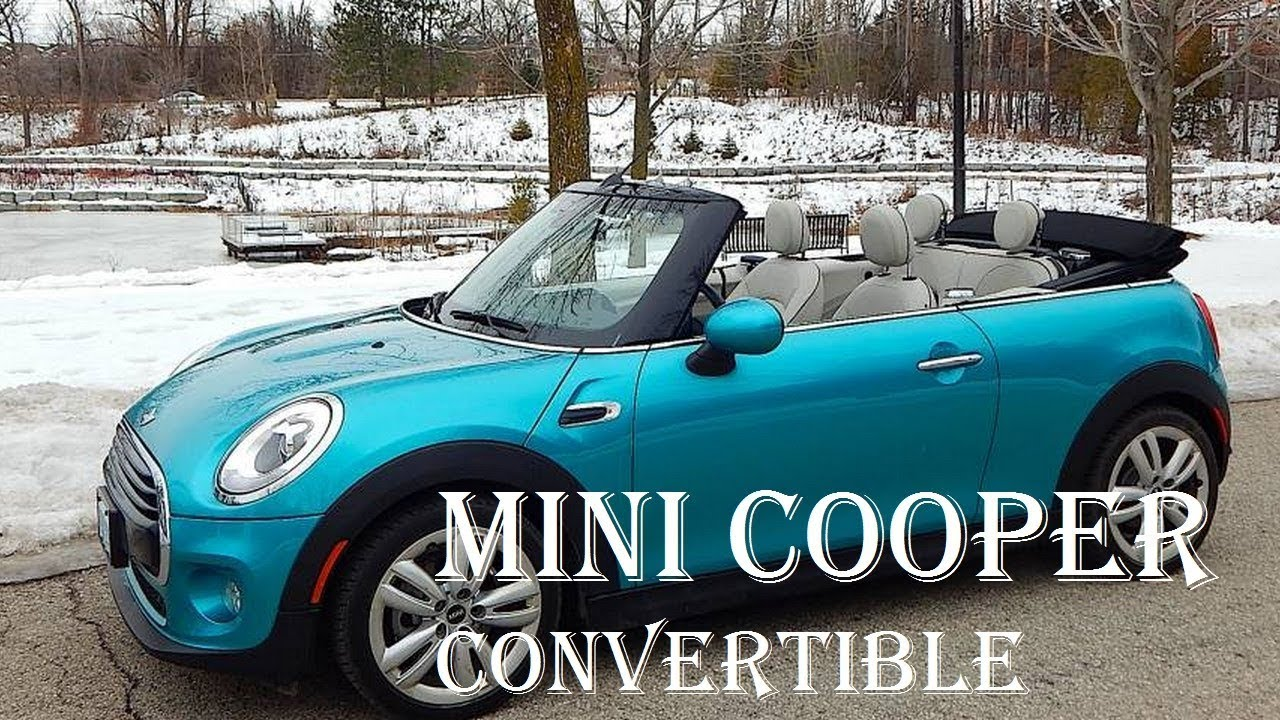 2017 Mini Cooper Convertible Sport Review Price Used Hard Top Specs Reviews Auto Highlights