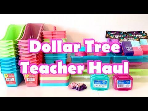 HUGE DOLLAR TREE BACK TO SCHOOL TEACHER HAUL