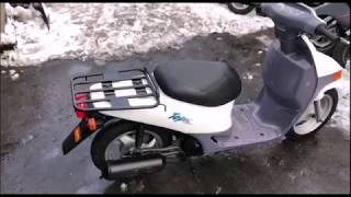 Огляд скутера Honda Topic (Хонда Топік) з Японії